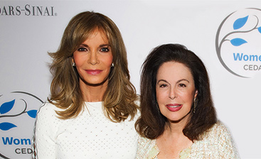 Jaclyn Smith and Wendy Goldberg
